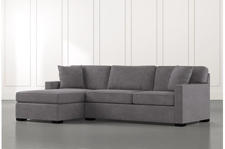 Alder Foam 2 Piece Sectional With Left Arm FacingChaise