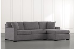 "Alder Foam 2 Piece 105"" Sectional With Right Arm Facing Chaise"