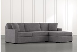 Alder Foam 2 Piece Sectional With Right Arm Facing Chaise