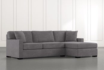 """Alder Foam 2 Piece 105"""" Sectional With Right Arm Facing Chaise"""