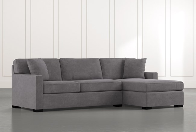 """Alder Foam 2 Piece 105"""" Sectional With Right Arm Facing Chaise - 360"""