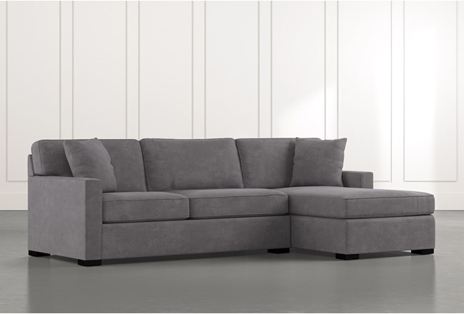 Alder Foam 2 Piece Sectional With Right Arm Facing Chaise - 360