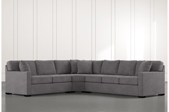 Alder Foam 3 Piece Sectional With Right Arm Facing Sofa
