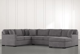 Alder 3 Piece Sectional W/ Laf Chaise