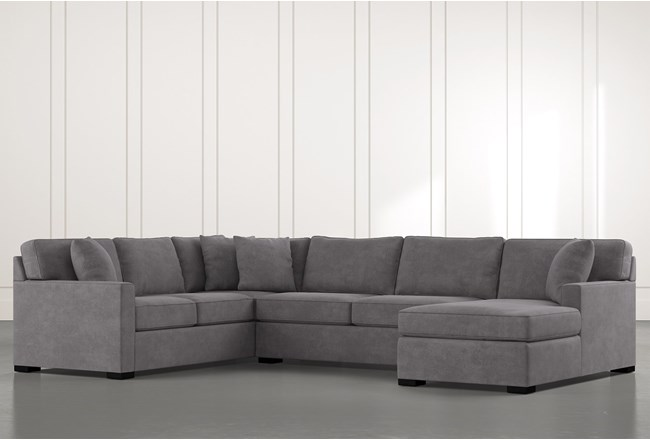 Alder 3 Piece Sectional With Right Arm Facing Chaise - 360