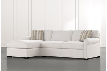 Elm II Foam 2 Piece Sectional With Left Arm Facing Chaise