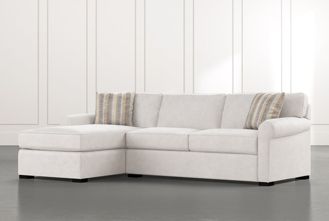 """Elm II Foam 2 Piece 107"""" Sectional With Left Arm Facing Chaise - 360"""