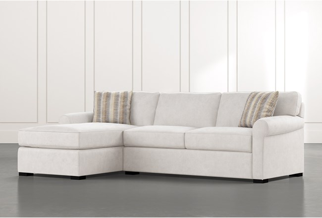 "Elm II Foam 2 Piece 107"" Sectional With Left Arm Facing Chaise - 360"