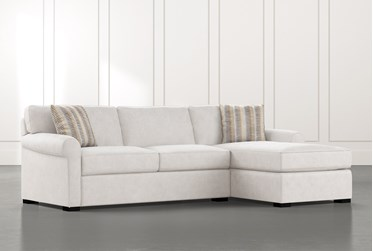 """Elm II Foam 2 Piece 107"""" Sectional With Right Arm Facing Chaise"""