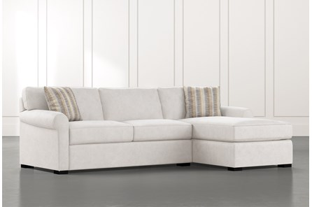 Elm II Foam 2 Piece Sectional With Right Arm Facing Chaise