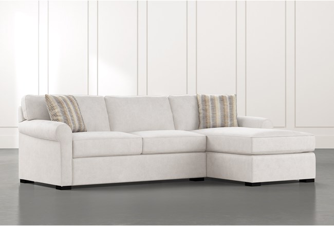 Elm II Foam 2 Piece Sectional With Right Arm Facing Chaise - 360