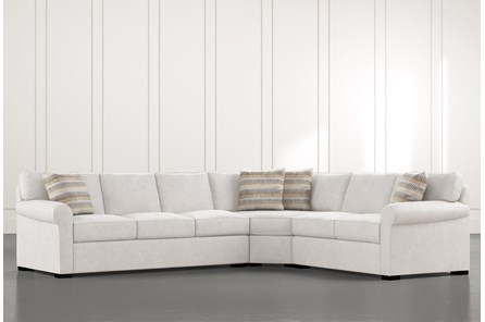 Elm II 3 Piece Sectional With Left Arm Facing Sofa
