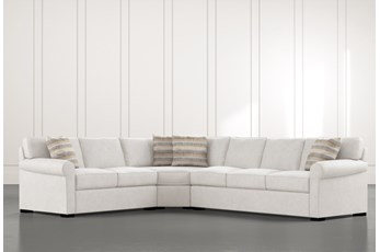 "Elm II Foam 3 Piece 127"" Sectional With Right Arm Facing Sofa"