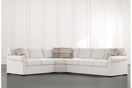 Elm II 3 Piece Sectional With Right Arm Facing Sofa
