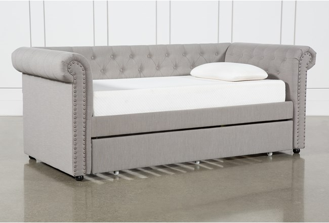 Dahlia Upholstered Daybed With Trundle - 360