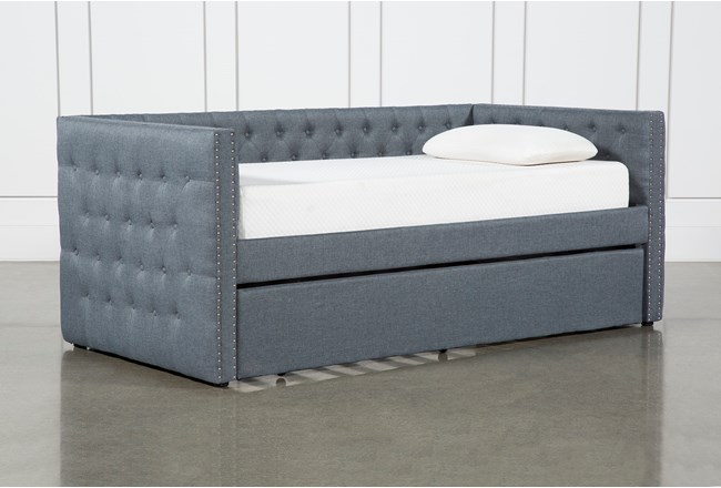 Brinsley Upholstered Daybed With Trundle - 360