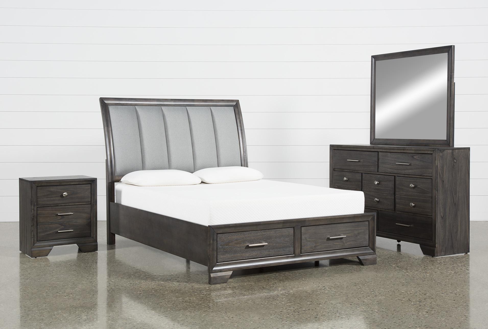 Malloy Queen 4 Piece Bedroom Set Living Spaces