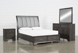 Malloy Queen 4 Piece Bedroom Set