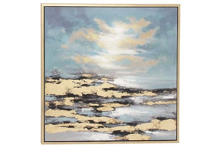 Picture-Golden Hour Coastal 39X39