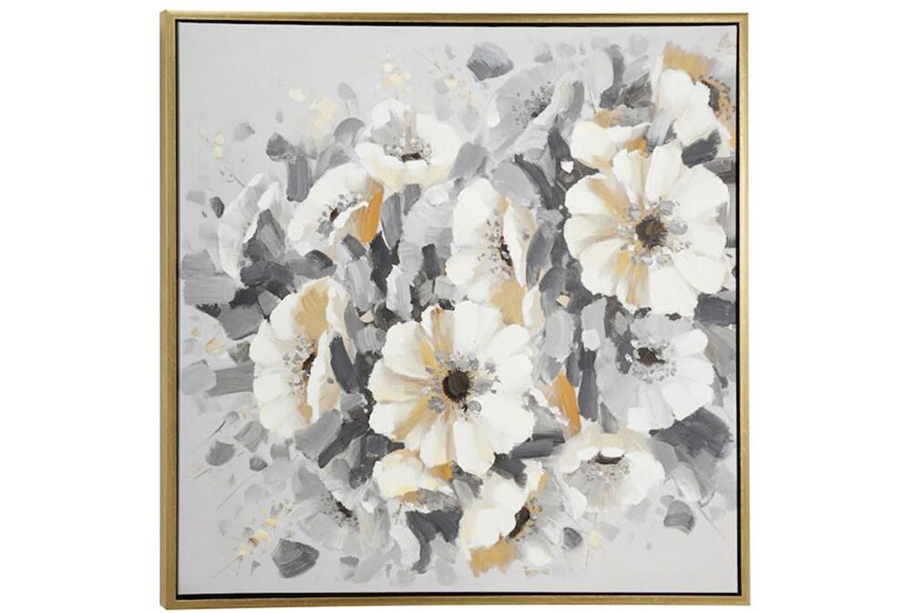 Picture-Silver Bouquet 39X39