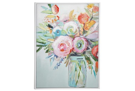 Picture-Pink Spring Bouquet 35X47