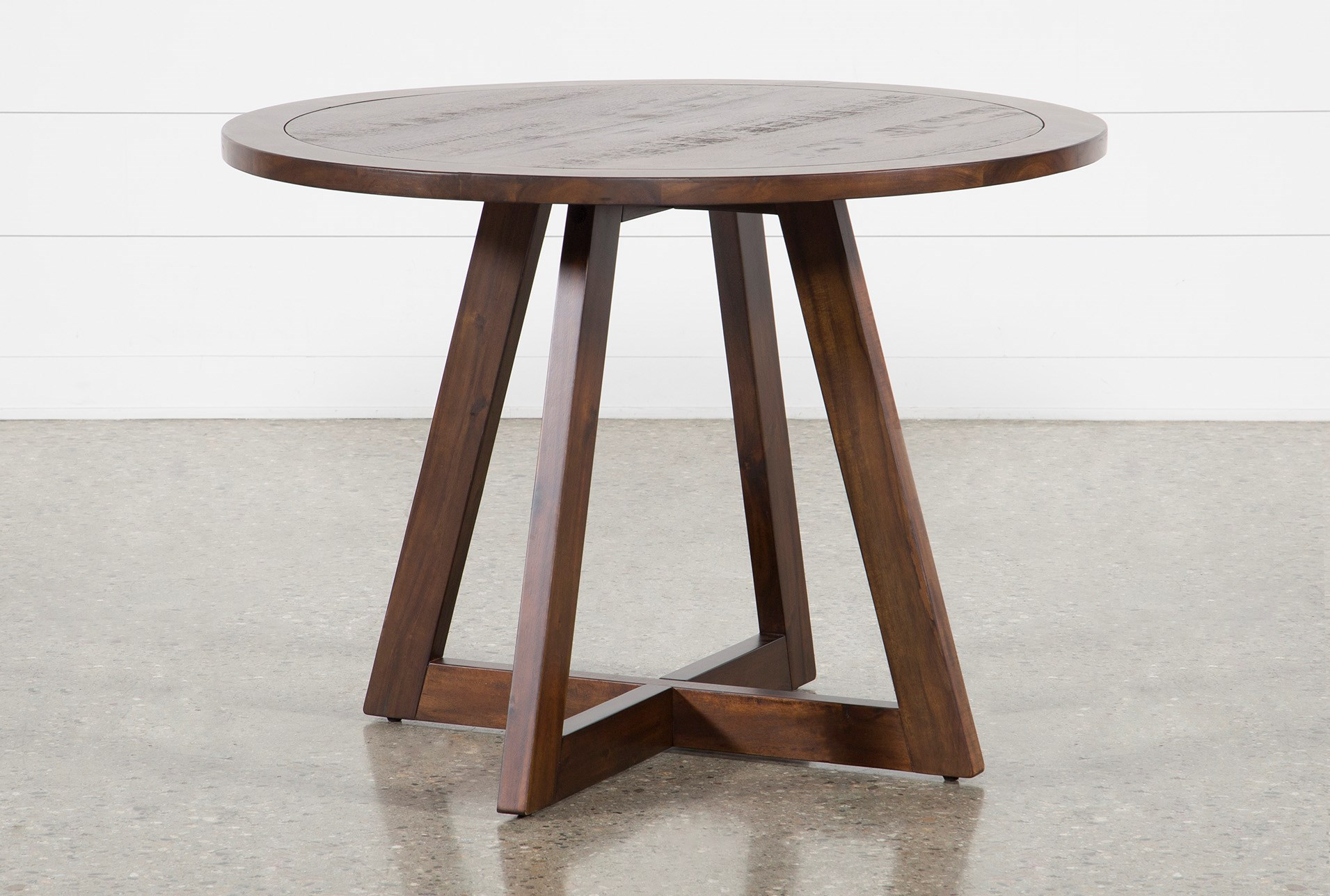Cleve Round Dining Table Living Spaces