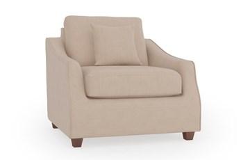 Magnolia Home Maison Homespun Cream Chair By Joanna Gaines