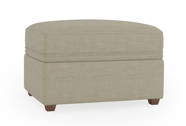 Magnolia Home Maison Homespun Sterling Ottoman By Joanna Gaines - 360