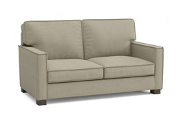 Magnolia Home Dweller Homespun Sterling Loveseat By Joanna Gaines