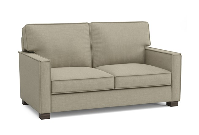 Magnolia Home Dweller Homespun Sterling Loveseat By Joanna Gaines - 360