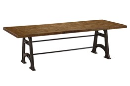 Mixed Metal Dining Table