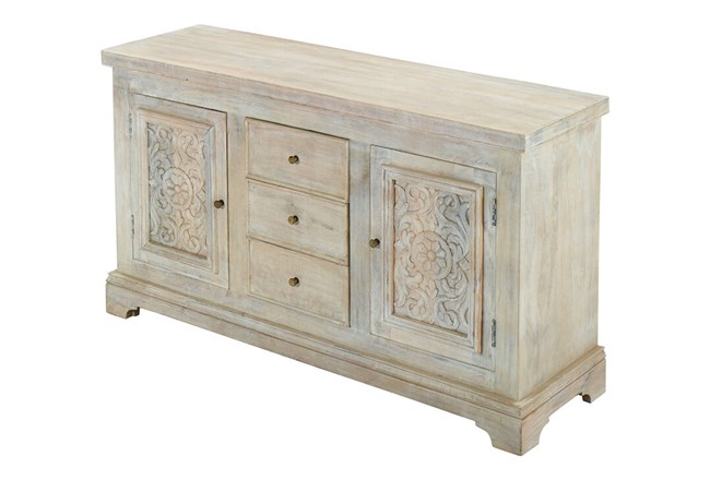 White Wash Crafted Sideboard  - 360