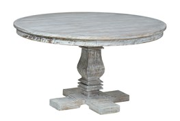 Round Column Dining Table