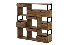 Rustic 8 Hole Bookcase