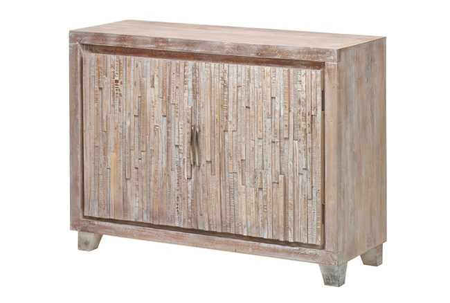White Wash Global Sideboard  - 360