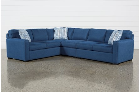 Cypress II 3 Piece Sectional With Right Arm Facing Love & Armless Chair