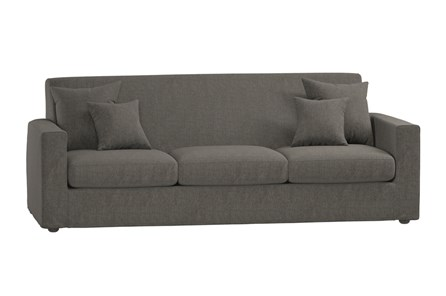 Magnolia Home Bower Palette Graphite Sofa By Joanna Gaines