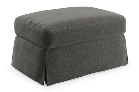 Magnolia Home Bower Palette Graphite Ottoman By Joanna Gaines