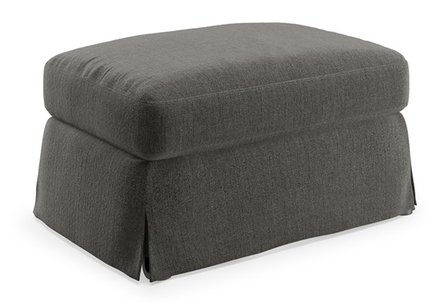 Magnolia Home Bower Palette Graphite Ottoman By Joanna Gaines - 360