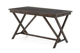 English Brown Oak Desk