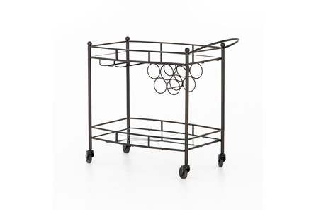 Gunmetal Bar Cart
