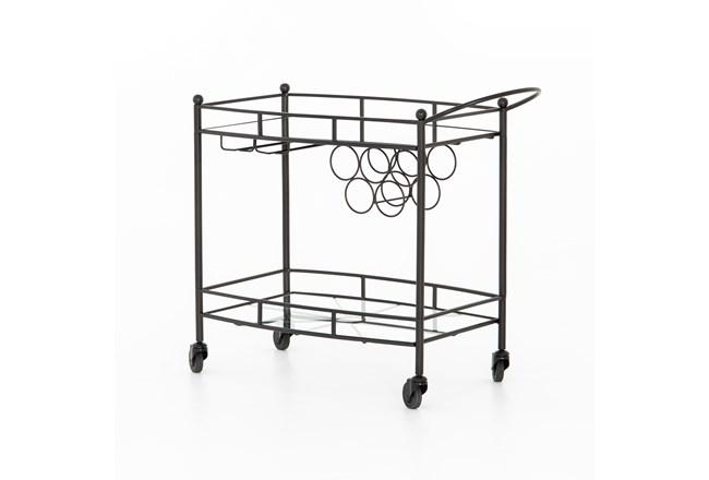 Gunmetal Bar Cart - 360
