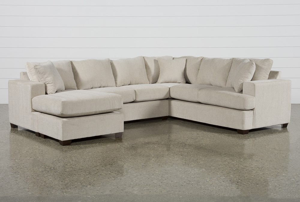 Kerri Sand 2 Piece Sectional With Left Arm Facing Sofa Chaise