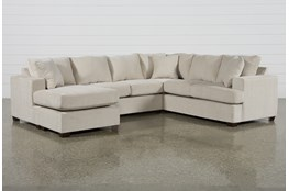 "Kerri Sand 2 Piece 126"" Sectional With Left Arm Facing Sofa Chaise"