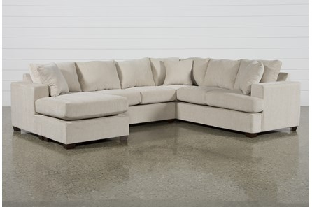 Kerri Sand 2 Piece Sectional With Laf Sofa Chaise