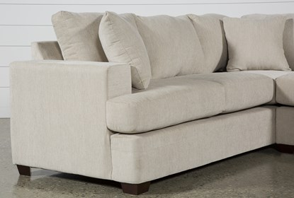 Terrific Kerri Sand 2 Piece Sectional With Right Arm Facing Sofa Chaise Ocoug Best Dining Table And Chair Ideas Images Ocougorg