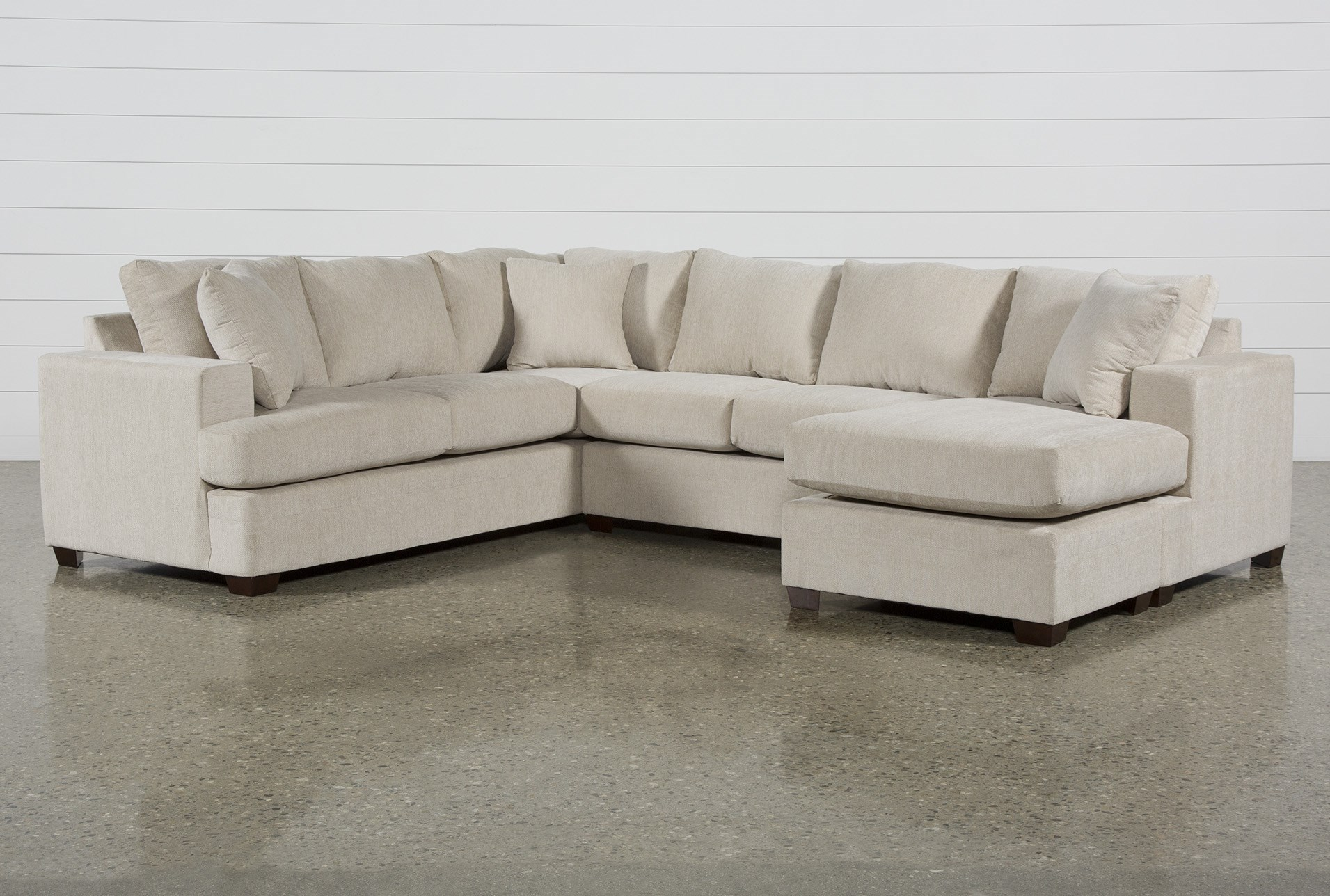 Kerri Sand 2 Piece Sectional With Right Arm Facing Sofa Chaise Qty 1 Has Been Successfully Added To Your Cart