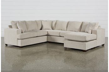 "Kerri Sand 2 Piece 126"" Sectional With Right Arm Facing Sofa Chaise"