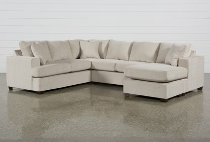 Magnificent Kerri Sand 2 Piece Sectional With Right Arm Facing Sofa Chaise Ibusinesslaw Wood Chair Design Ideas Ibusinesslaworg