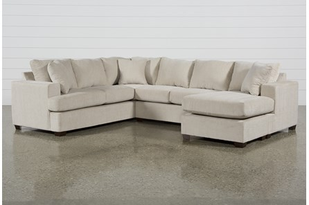 Kerri Sand 2 Piece Sectional With Raf Sofa Chaise